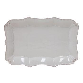 Casafina  Vintage Port - White Rectangular Platter $45.00
