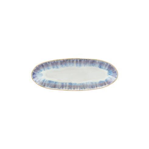 """Costa Nova  Brisa - Ria Blue Oval Plate/Platter 10"""" $27.50"""