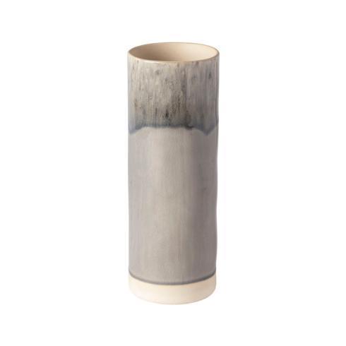 "Costa Nova  Madeira - Grey Cylinder Vase 10"" $64.00"