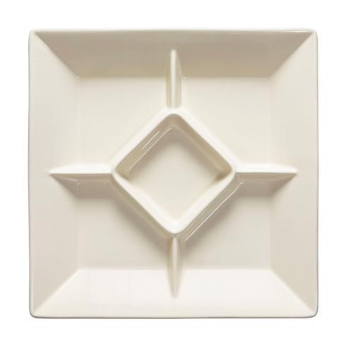 Casafina  Cook & Host – Cream Square Appetizer Tray  $61.50