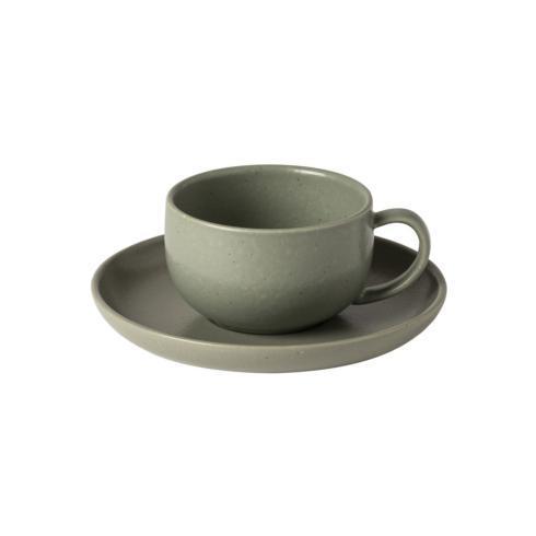 $25.00 Tea Cup and Saucer 7 oz.