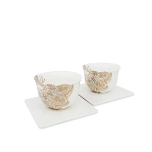 $85.00 Cup & Saucer Boxed Set/2
