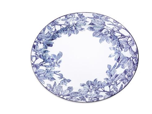 "Caskata  Arbor - Blue 16"" Rim Platter $135.00"