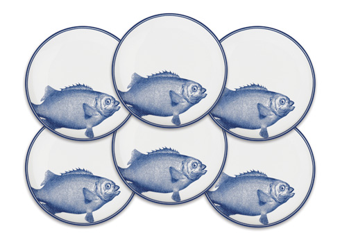 Caskata   One Fish, Two Fish Canapes Boxed Set/6 $110.00