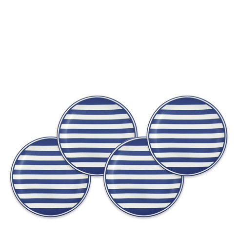$65.00 Blue Canapes Boxed Set/4