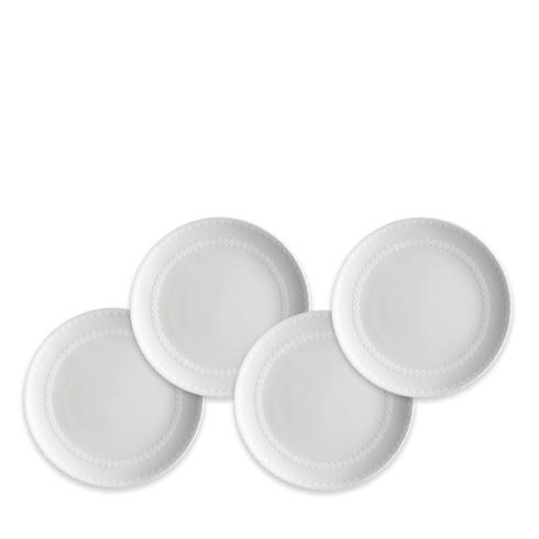 Caskata  Pearls White Canapé Set/4 $65.00