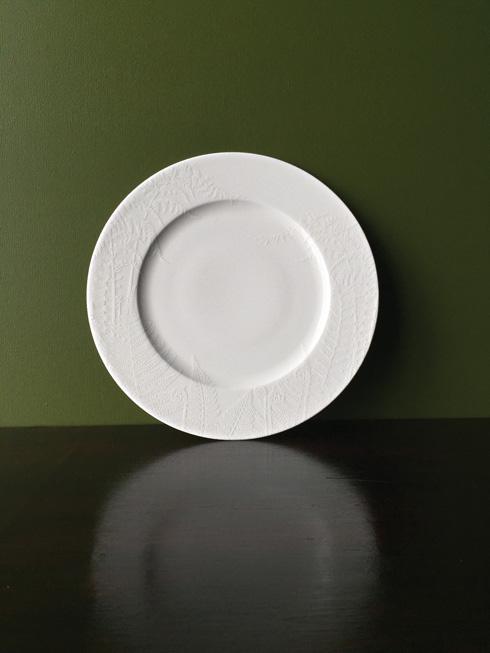 Caskata  Spring White Dinner Plate $30.00