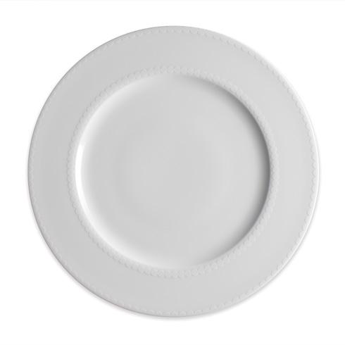 Caskata  Pearls White 10.75 In Dinner $35.00