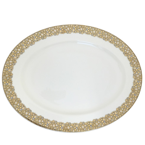 "$275.00 16"" Oval Plate"