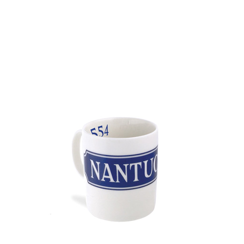 $20.00 Chart (BLU)  - Nantucket Zip Code - 11 oz. Mug
