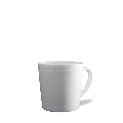 Caskata  Pearls White Wide Mug $20.00