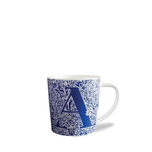 $20.00 Initial A Wide Mug