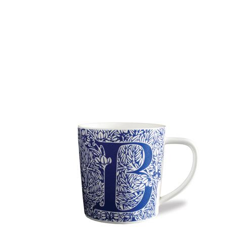$20.00 Initial B Wide Mug