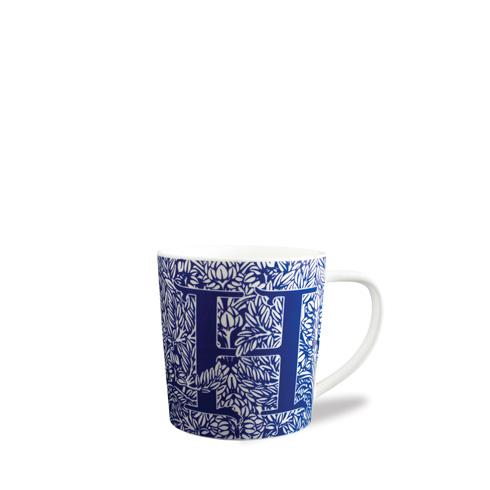 $20.00 Initial H Wide Mug