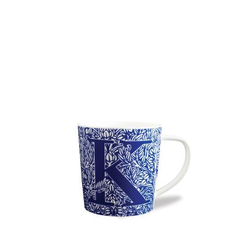 $20.00 Initial K Wide Mug
