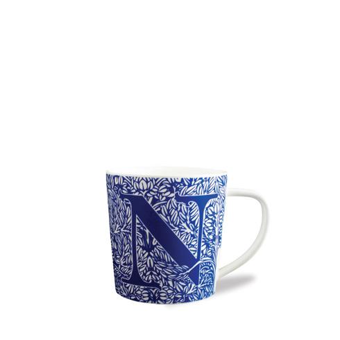 $20.00 Initial N Wide Mug