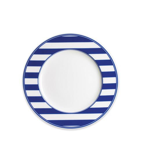 $30.00 Blue 8 In Rimmed Salad
