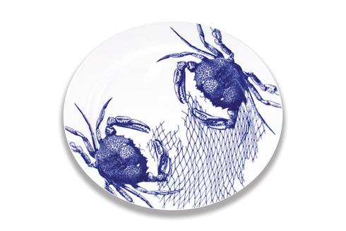 "$135.00 16"" Rimmed Oval Platter"