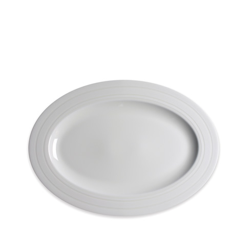$80.00 14 In Rim Oval Platter