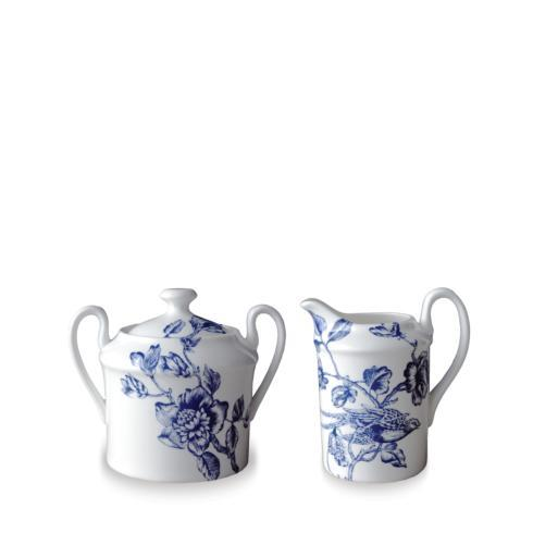Caskata  WILLIAMSBURG - Chinoiserie Toile Creamer and Sugar Set $75.00