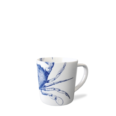 Caskata  Crabs & Nets - Blue Mug $20.00