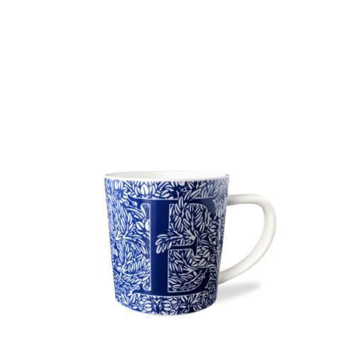 $20.00 Initial E Wide Mug