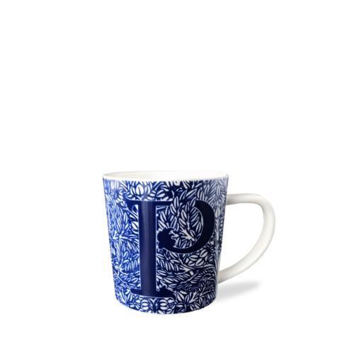 $20.00 Initial P Wide Mug