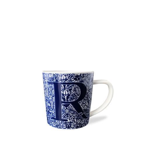$20.00 Initial R Wide Mug