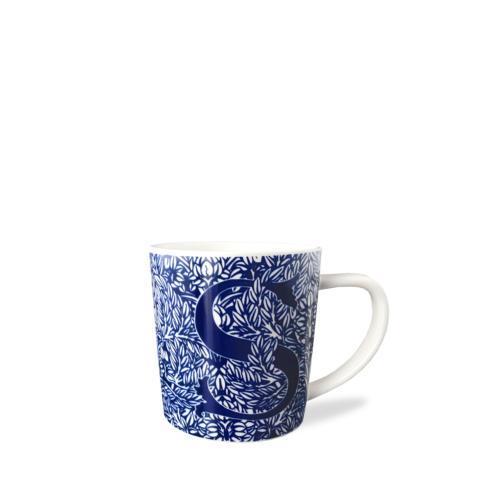 $20.00 Initial S Wide Mug