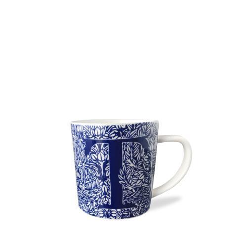 $20.00 Initial T Wide Mug
