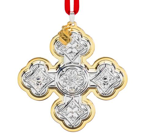 $109.95 Reed & Barton Christmas Cross 50th Anniversary  Edition 2020 Sterling Silver Ornament