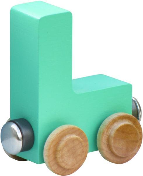 $5.85 Name Trains Pastel Letter L