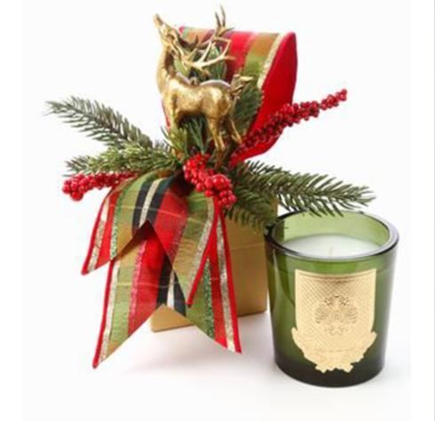 $49.00  Noble Fir 14oz Candle In Christmas gift box