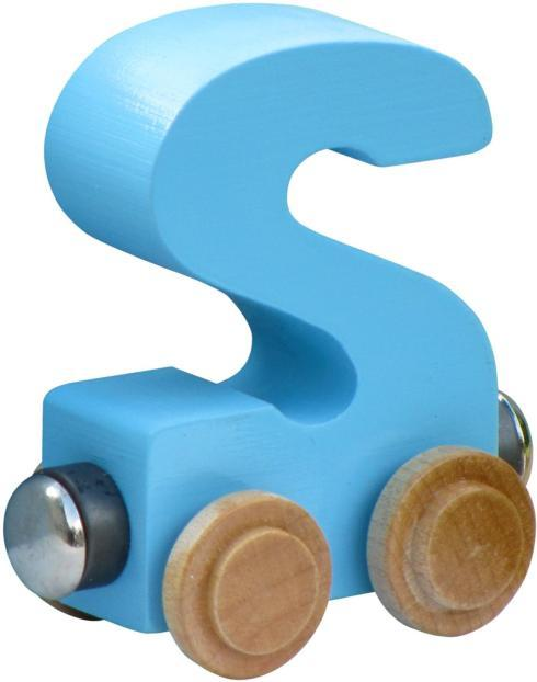 $5.85 Name Trains Pastel Letter S