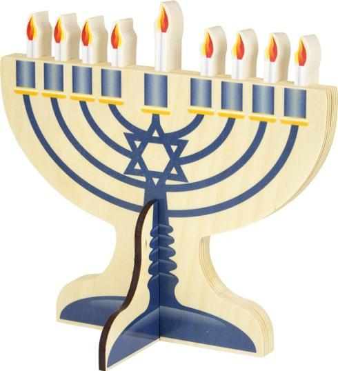 $29.99 Menorah Wooden