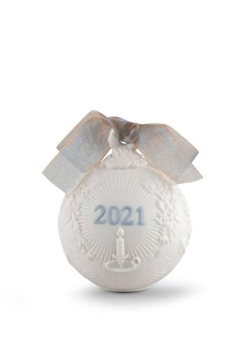 2021 Christmas ball (original matte blue)
