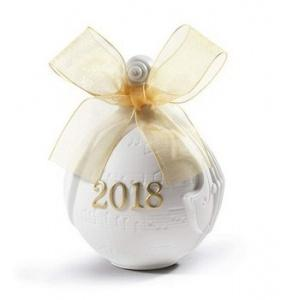 $100.00 2018 Lladro Ball Gold