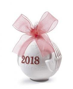 $100.00 2018 Lladro Ball Red