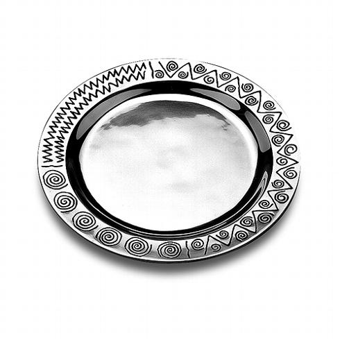 $74.99 Wilton Armetale Reggae Round Platter