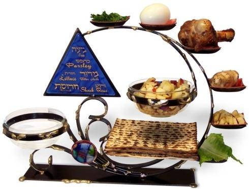 Gary Rosenthal Collection   Ultimate all inclusive Seder Plate Combo $360.00