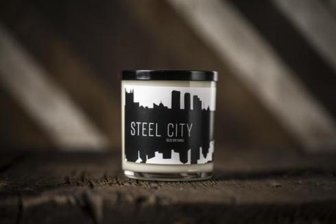 $24.99 Pittsburgh Candleworks Steel City soy candle