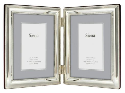 Siena Beaded Double 4x6 Frame