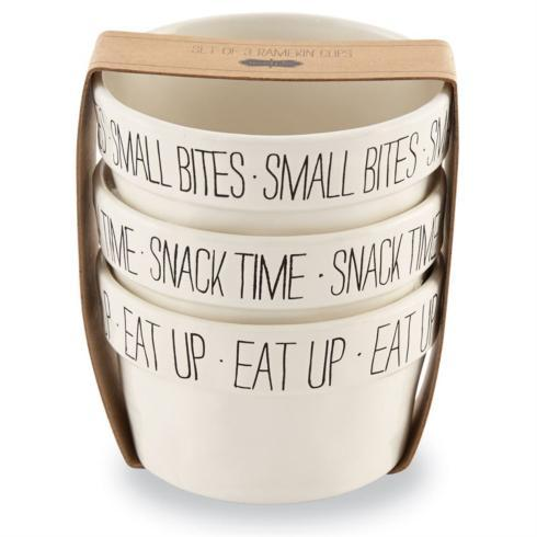 $19.99 Small Bites Ramekin set