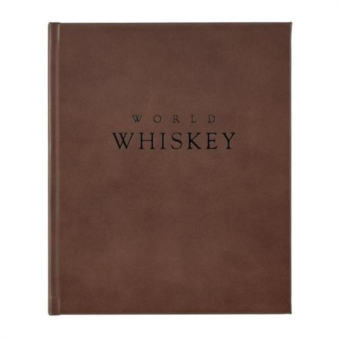 $110.00 World of Whiskey Book - Brown Genuine Leather