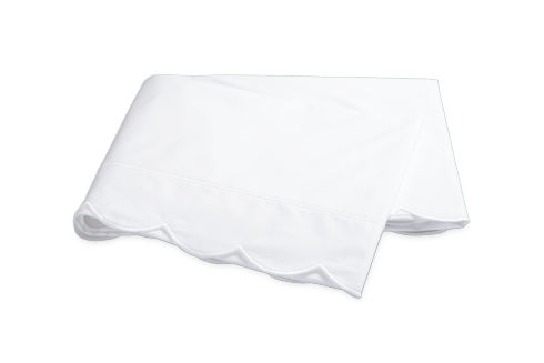 $295.00 Butterfield White Flat Sheet  King