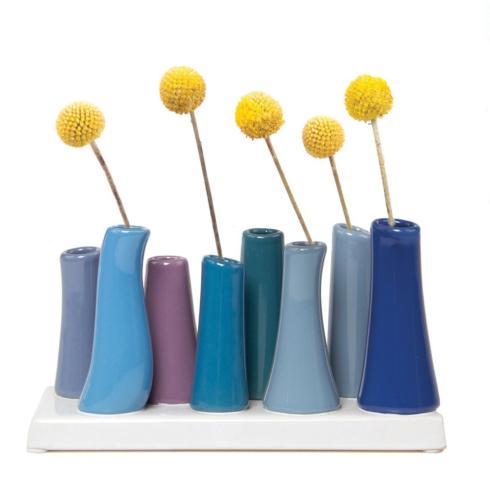 Contemporary Concepts Exclusives   Chive Pooley 2 - Cobalt (8 Vase assortment) $34.95