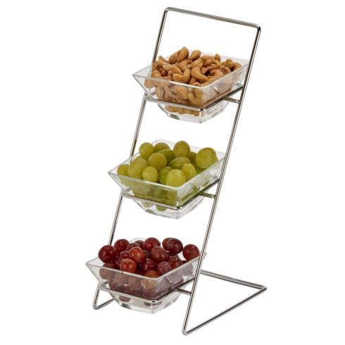 Creative Gifts Direct   4-Piece Tiered Serving Set $28.00