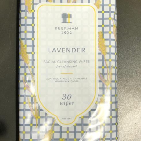 $7.00 Lavender Facial Wapes 6oz
