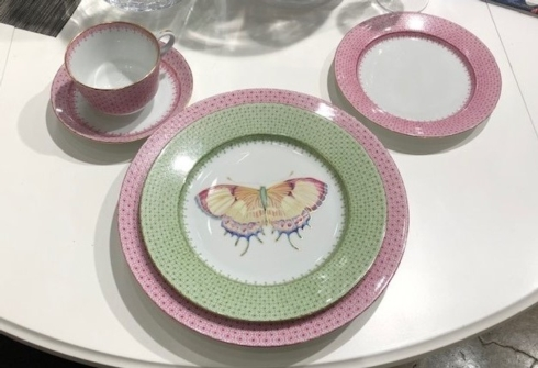 Contemporary Concepts Exclusives   Electra Janis Mottahedeh Place setting 5pc  $238.50