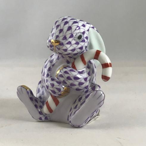 $395.00 Candy Cane Bunny Lavender
